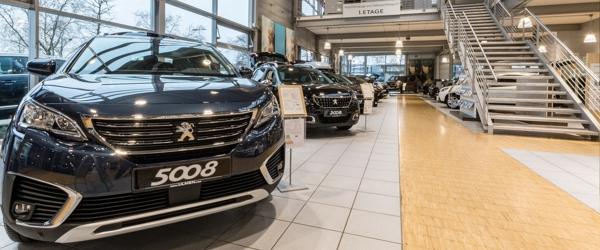 Bild 1 zu Beitrag 'Citroen- und Peugeot-Autohaus in Düsseldorf'