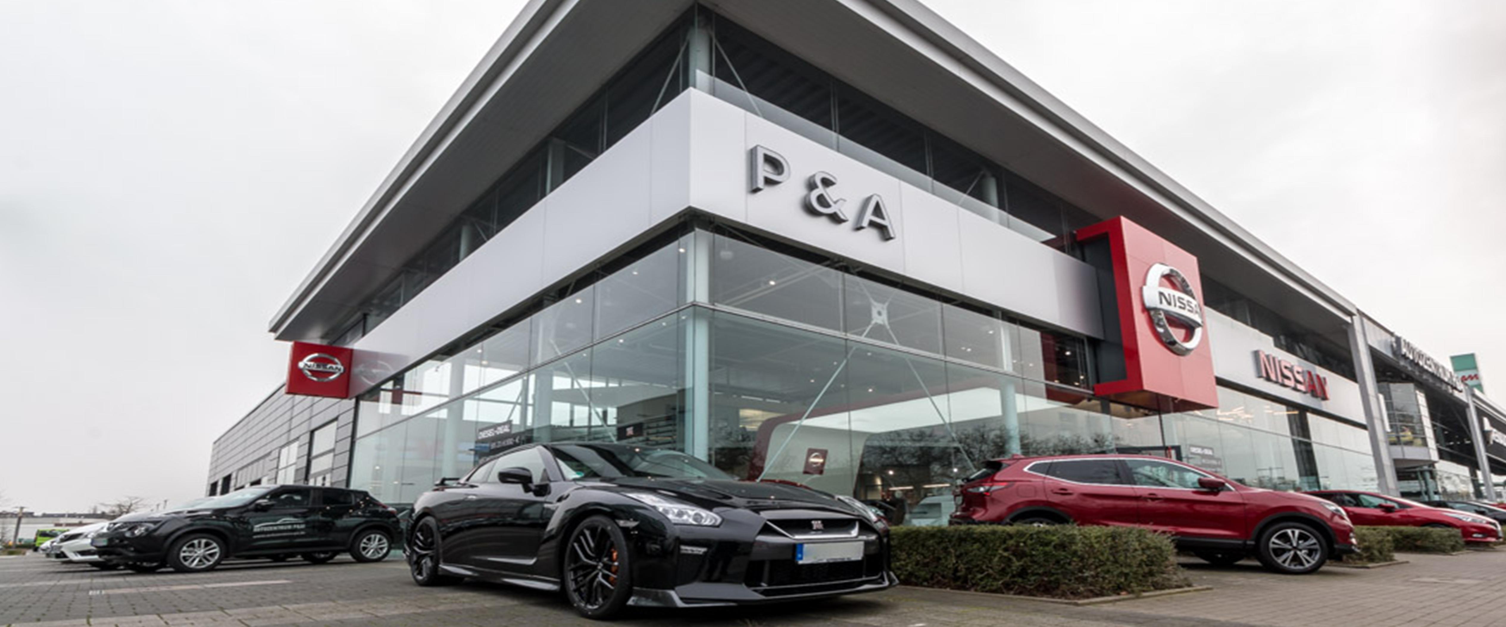 Bild 1 zu Beitrag 'Nissan Flagship-Store - Das neue Highlight an der Düsseldorfer Automeile'